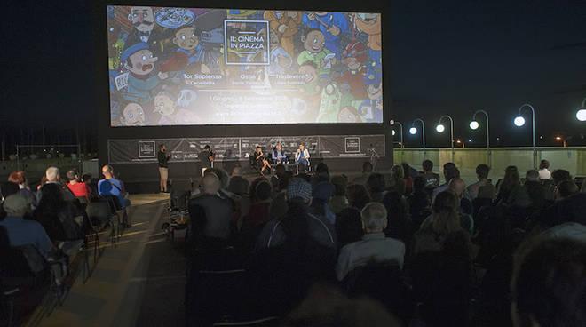 il cinema in piazza - ostia