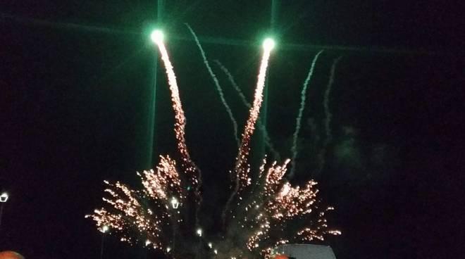 Municipio X - fuochi d'artificio al Pontile di Ostia