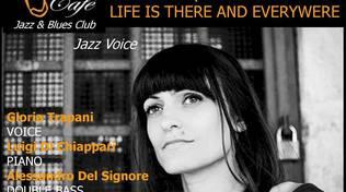 Gloria Trapani Quartet in concerto al Charity Café