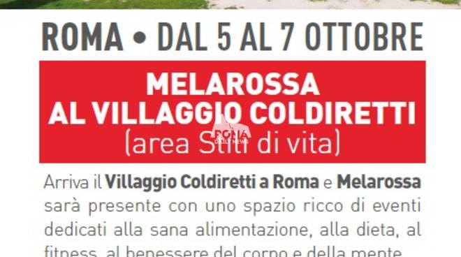 Dieta sana, la chiave del benessere: Melarossa e i suoi esperti al Villaggio Coldiretti di Roma