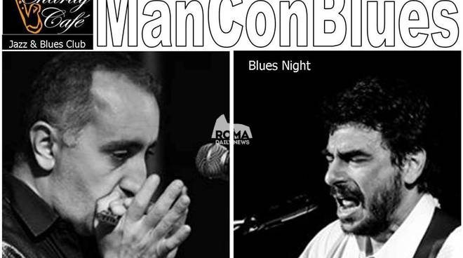 ManConBlues duo in concerto al Charity Café