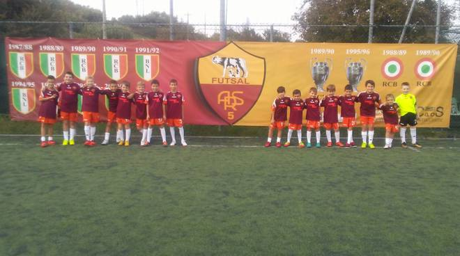 As Roma Futsal scuola calcio a 5