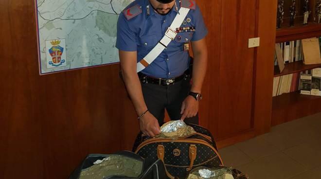 Carabinieri- borsa schermata