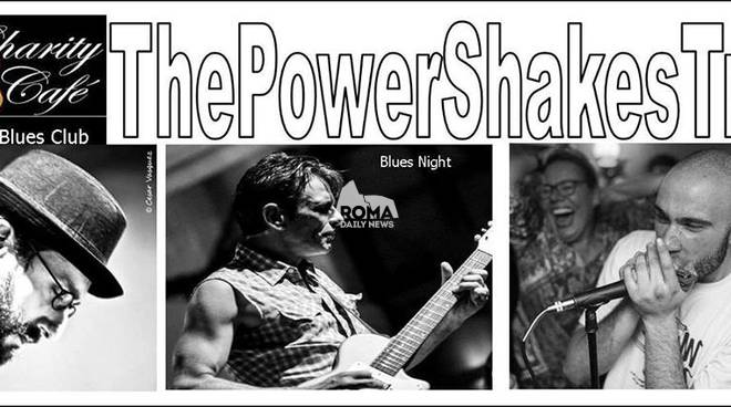 The Power Shakes in concerto al Charity Café