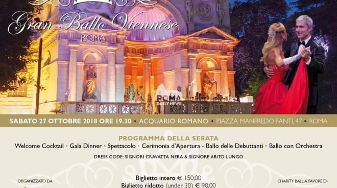XII Edizione Gran Ballo Viennese di Roma
