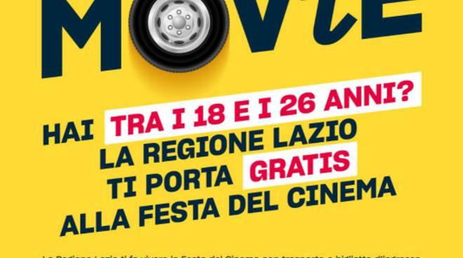Zingaretti presenta la regione ti porta al cinema - Tre ti porta al cinema ...