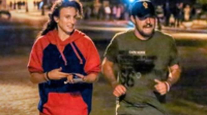 Salvini jogging