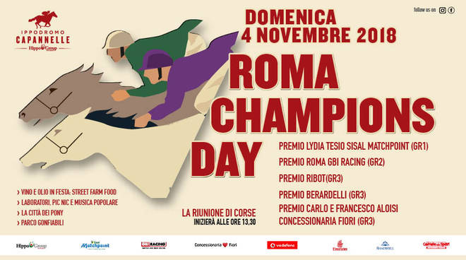 Roma Champions Day