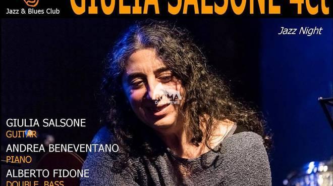 Giulia Salsone Quartet in concerto al Charity Café