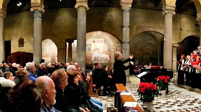 Il Concerto di Natale a Roma l\'8 Dicembre Basilica di San Saba Direttore il M°Erika Zoi