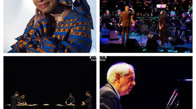 Gran Finale Romaeuropa: domenica 25 novembre con Angelique Kidjo, Matthew Herbert & Brexit Big Band, Ryoji Ikeda e Franco D\'Andrea all\'Auditorium