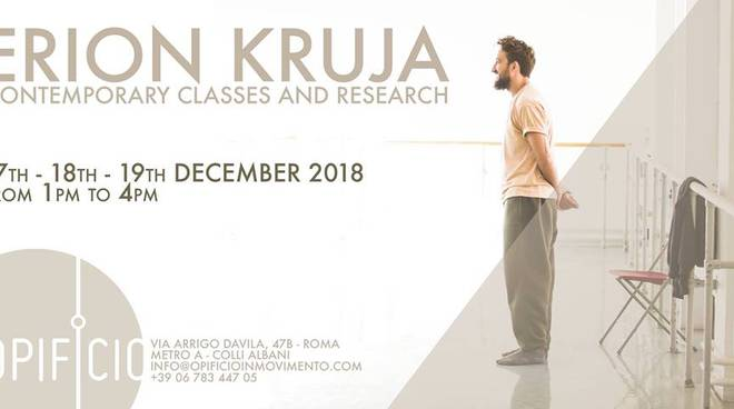 Erion Kruja / contemporary class and research