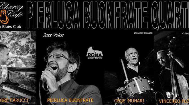 Pierluca Buonfrate Quartet in concerto al Charity Café