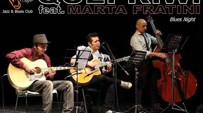 Quei Kiwi feat. Marta Fratini in concerto al Charity Café