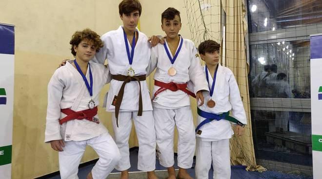 Judo Frascati Farina e Stoduto  sul podio