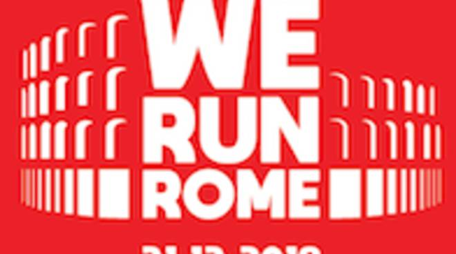Logo We Run Rome  2018