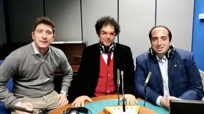 ANGI sx Vittorio Hans Pinto, Daniel Della Seta e Gabriele Ferrieri