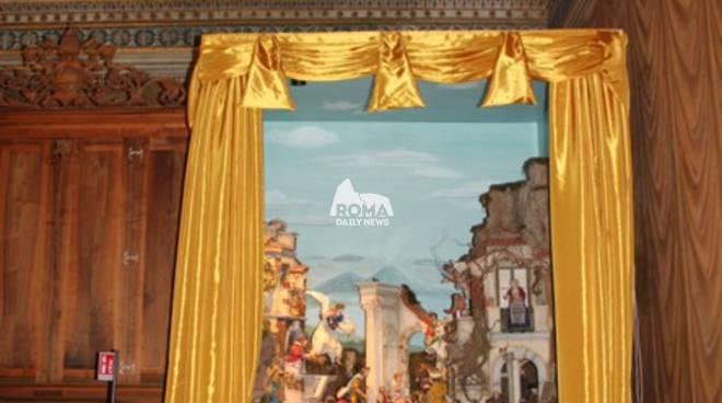 Presepe in Cappella Sistina