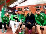 La squadra italiana a grenoble coi 3 ragazzi del new country