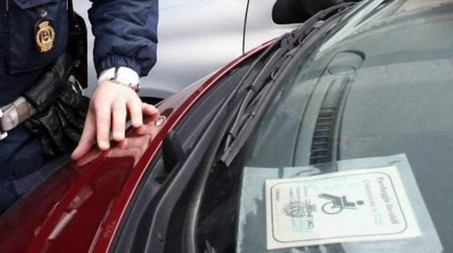 Pass per parcheggi disabili