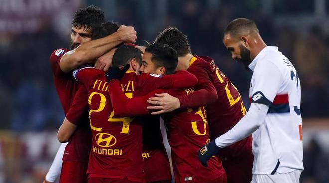 Roma-Genoa 3-2