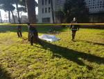 Cadavere Parco della Resistenza
