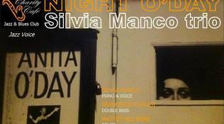 """Silvia Manco Trio in \""""Night O\'day\"""" live al Charity Café"""
