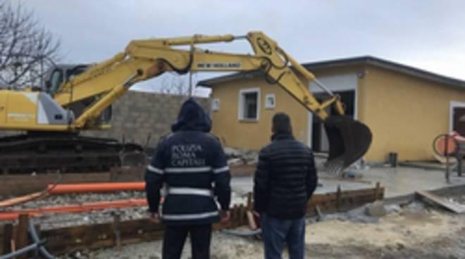 demolizione Castelverde
