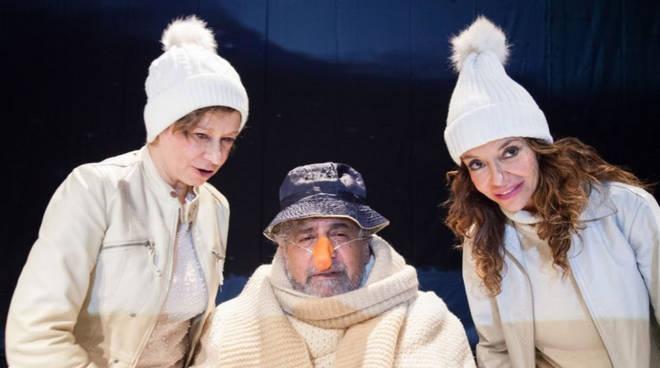 In foto da sinistra: Monica Bonomi, Edoardo Siravo e Stefania Barca