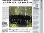 La Repubblica Roma - I titoli della prima pagina
