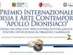 Il Premio Internazionale di Poesia e Arte Contemporanea Apollo dionisiaco 2019 invita alla celebrazione del senso della bellezza