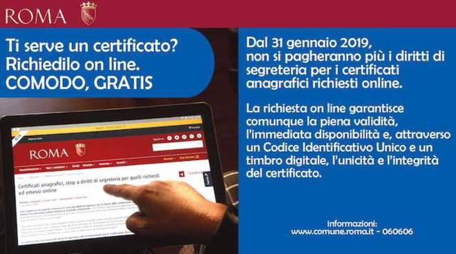 Roma Capitale - Certificati Online