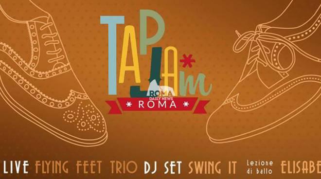 Tap Jam Roma + Flyng Feet Trio al Cotton Club