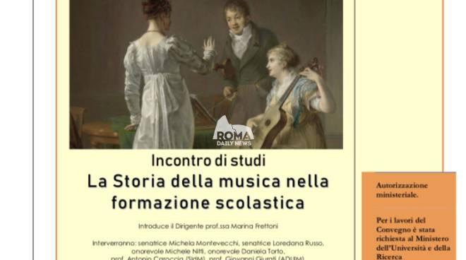 """Seminario SIdM Farnesina \""""Storia della musica nella formazione scolastica\"""""""