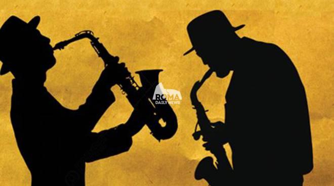 Ialsaxophone Ensemble diretto da Gianni Oddi in concerto al Cotton Club