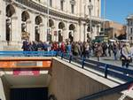sit-in stazione Repubblica
