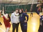 Borghesiana volley - Colucci (a sx) e Lingenti