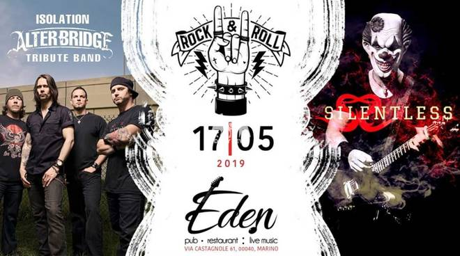 Isolation AlterBridge Tribute Band + Silentless Live Eden