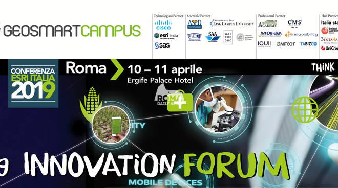Geosmartcampus Innovation Forum 2019 a Roma il 10 e 11 Aprile
