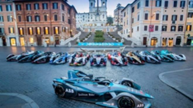 Formula E piazza di Spagna