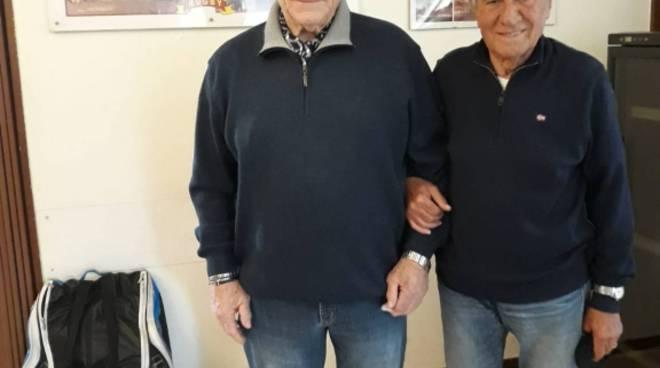 Giorgetti (a sx) e Modesto Molinari