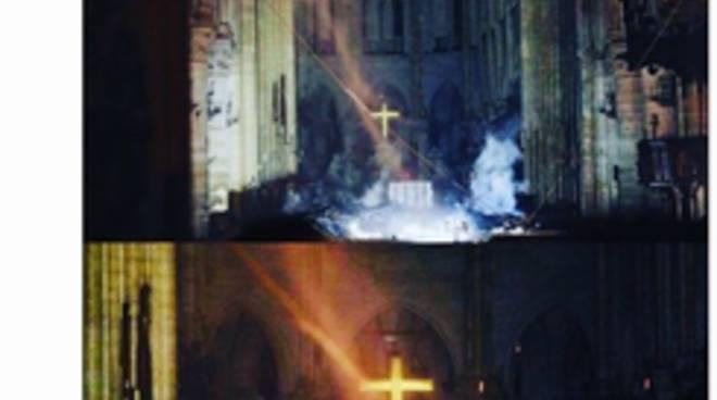 Notre Dame de Paris brucia, ma Salvini guarda il grande Fratello