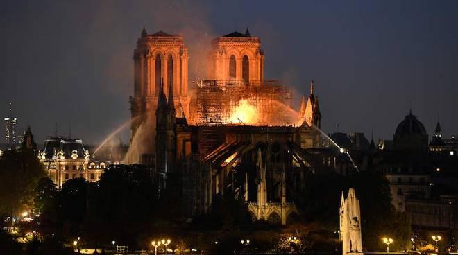Notre Dame a fuoco