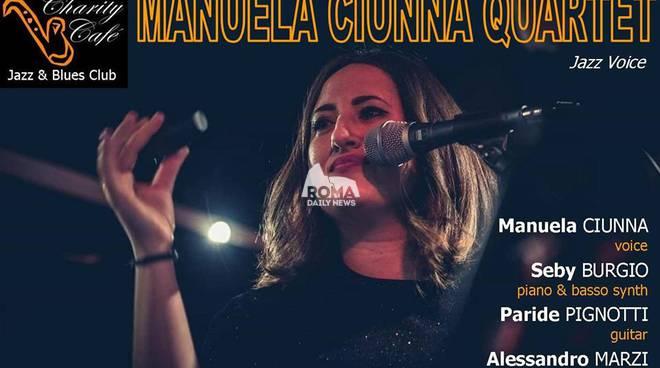 Manuela Ciunna Quartet in concerto al Charity Café