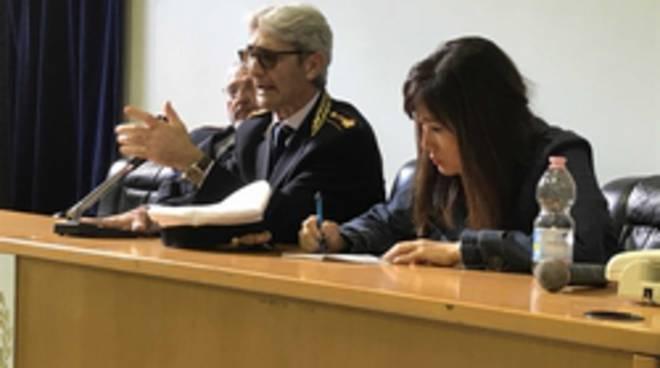 Incontro tra vigili e rappresentanti polizia nazionale coreana