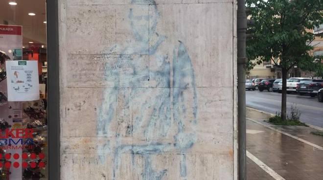 murale De Rossi a Ostia