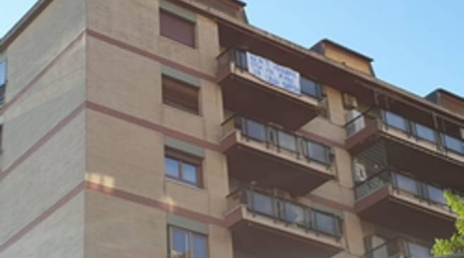 striscione anti-Salvini