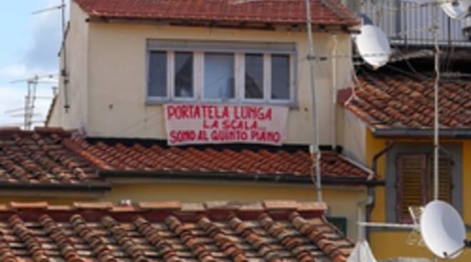 striscione Firenze