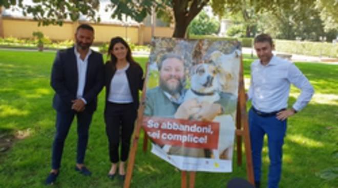 campagna contro abbandono cani