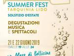 Tarquinia lido bollicine summer fest